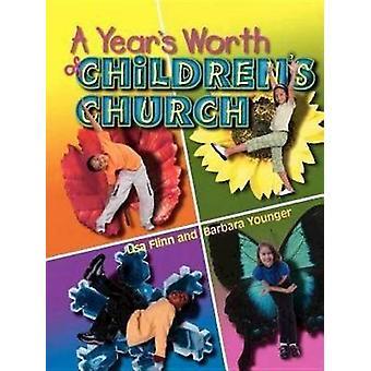 Years Worth of Childrens Church by Lisa Flinn - 9780687026166 Book