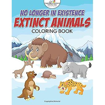 No Longer in Existence - Extinct Animals Coloring Book by Kreative Kid