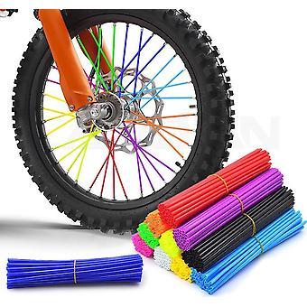 Motorcycle Dirt Bike Off Road Rim Wheel Spoke Skins For Honda Crf 450 Cr Crf