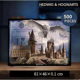 Curiosity 3d Diy Movie, Magic Hogwart's Castle, Cardboard For, Adult