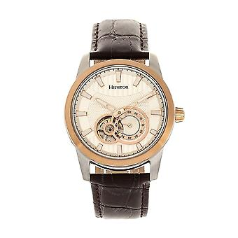 Heritor Davidson Automatic Silver Dial Men's Watch HR8003