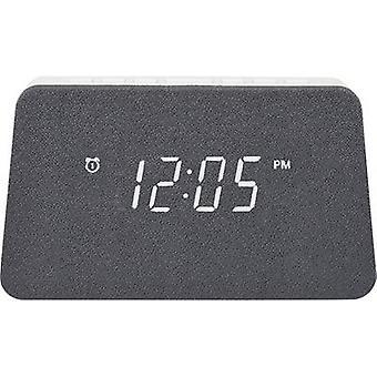 AIC WM3020i we Radio alarm clock FM Alarm clock, #####Qi-Akku-Ladefunktion White