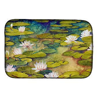 Carolines Treasures FHC1001DDM Waterlillies af Ferris Hotard Dish Tørring Mat