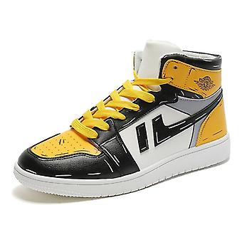 Herbst/Winter Männer Casual Schuhe, atmungsaktives Board, High Top, komfortabel