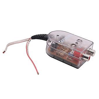 Haut-parleur stéréo de voiture de haut à bas niveau