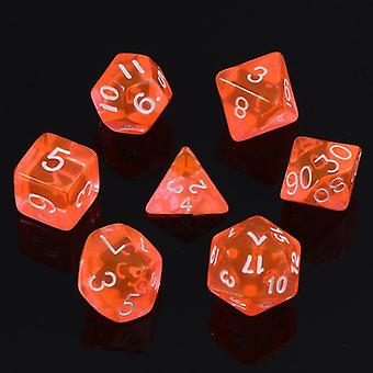 Poly Dice Board Game Set Of 7 Sided Die
