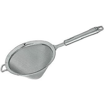 sieve conical 15 cm stainless steel silver