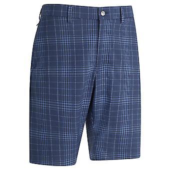 Callaway Golf Mens 2021 Ergo Plaid Tour Stretch Active Waistband Golf Shorts