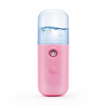 Portable Small Air Humidifier, Usb Rechargable, Handheld Water Meter,