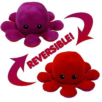 Omkeerbaar Octopus Plushie Pluche Speelgoed