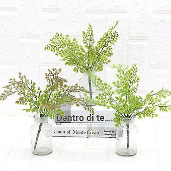 5Pcs flores artificiales flores artificiales flores hogar decoración flores secas regalo de flores falsas para las mujeres