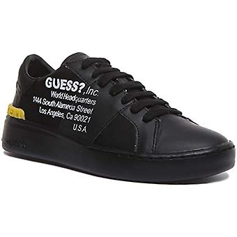 Guess Verona Low Smart, Men's Sneakers, Black, 41 EU