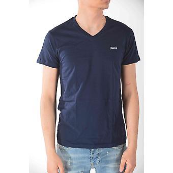 T-shirt short sleeves Blue Marine Schott men