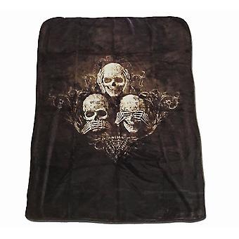 Alchemy - NO EVIL - Luxury  King Fleece Blanket