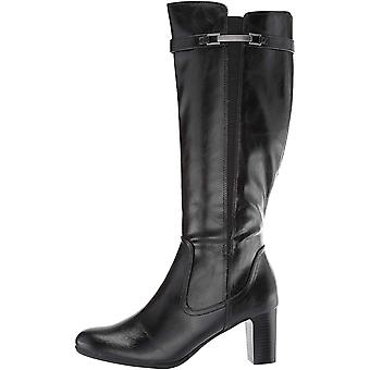LifeStride Women's Milena Mid-Heel Tall Shaft Dress Boot Knee High