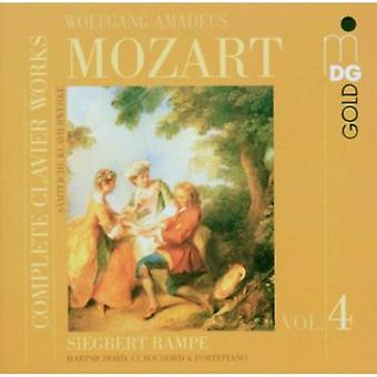 W.a. Mozart - Mozart: Complete Clavier Works, Vol. 4 [CD] USA import