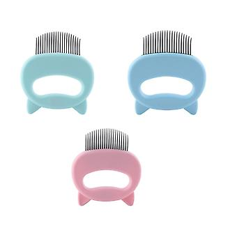 Pet Massage Brush Shell Shaped To Remove Loose Hairs Only For Cats