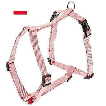 Ferribiella Nylon-Gurtzeug Rot (Hunde , Für den Spaziergang , Geschirr)