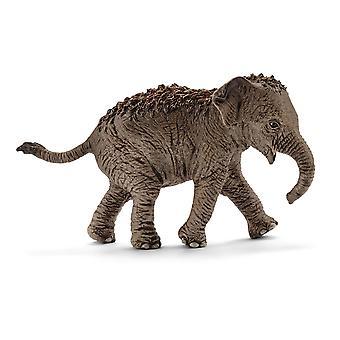 Schleich Wild Life Aasian Elefantin vasikka leluhahmo