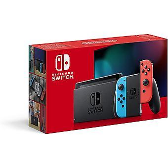 Nintendo Switch Console - harmaa - uusi malli -sinetöity