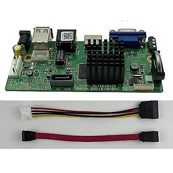 H.265 9ch *4k Nvr Verkko Dvr Digitaalinen Videonauhurilevy Ip Camera Max