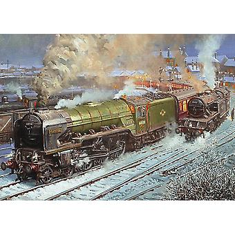 Gibsons Kestrel At Hartlepool Jigsaw Puzzle (500 Pieces)