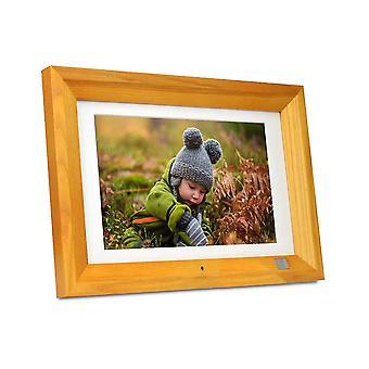 """Kodak Hi Upplösning 1280 x 800 10"""" Digital Photo Frame - Burlywood"""