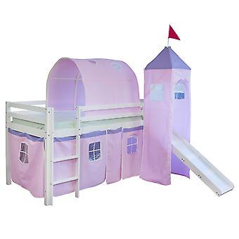 Kinderbed - Tienerbed - Kinderbed - Kinderbedden - Jongens - Meisjes - Modern - Roze - Kunststof - 100 cm x 90 cm x 70 cm