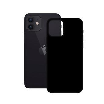 Mobile Case Iphone 12 Mini Yhteystiedot TPU Musta