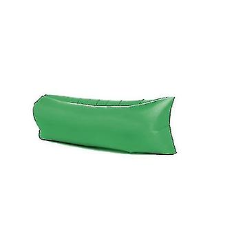 Inflatable?sofa Outdoor?portable Water Proof  Anti Air Leaking Lounger?air?sofa?hammock Chair(GREEN)