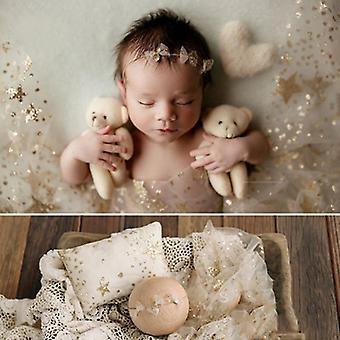 Vastasyntynyt valokuvaus rekvisiitta, vauvan pitsikääre valokuvaukseen