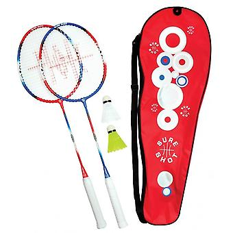 Sure Shot London 2 Player Senior Racket & Play Set