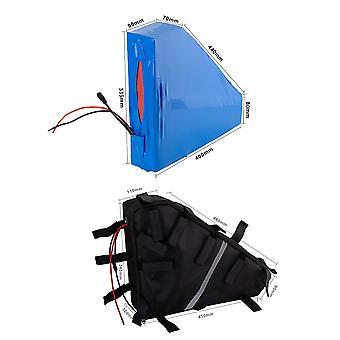 Mit Ladegerät 36v 87.5ah 10s25p Ebike Akku Li-Ion Dreieck Tasche Elektrofahrrad Dreirad Motorrad 410x90x460x100x110x345mm