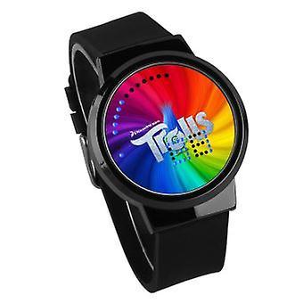 Vízálló világító LED Digitális Touch Watch-trollok # 14