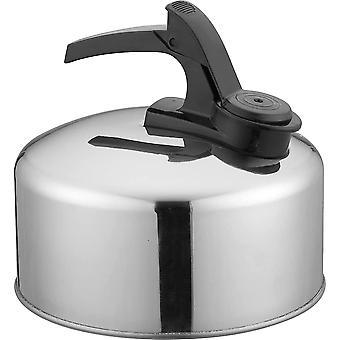Bouilloire de camping sifflante en aluminium de 1 ou 2 litres, légère, compacte et durable, parfaite pour le camping, le glamping et les voyages de festival, la randonnée, l'air extérieur