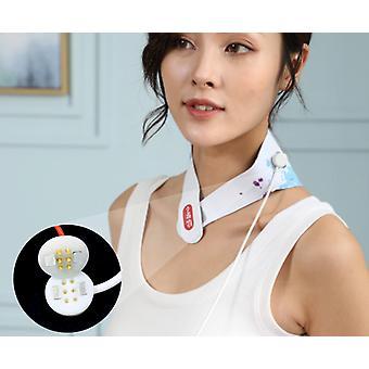 Nek en schouder grafeen ver-infrarood warmte comprimeren intelligente koud-proof infrarood fysiotherapie geautomatiseerde cervicale wervelkolom en nek stimulator