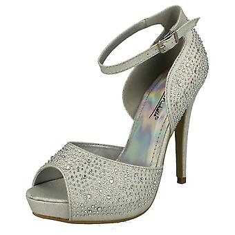 Ladies Anne Michelle Platform Heel Sandals