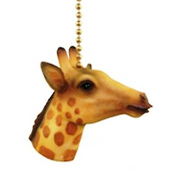 Jungle Safari girafe enfants crèche Fan Pull léger