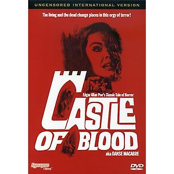 Castle of Blood [DVD] USA import