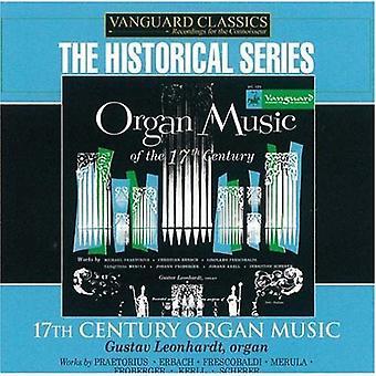 Gustav Leonhardt - 17th Century Organ Music [CD] USA import