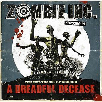 Zombie Inc - Dreadful Decease [CD] USA import