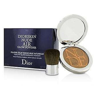 Christian Dior Diorskin Nude Air Healthy Glow Radiance Powder (con Pennello Kabuki) - 003 Warm Tan - 10g/0.35oz