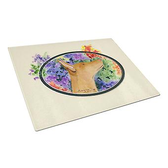 Carolines Treasures  SS8041LCB Pharaoh Hound Glass Cutting Board Large