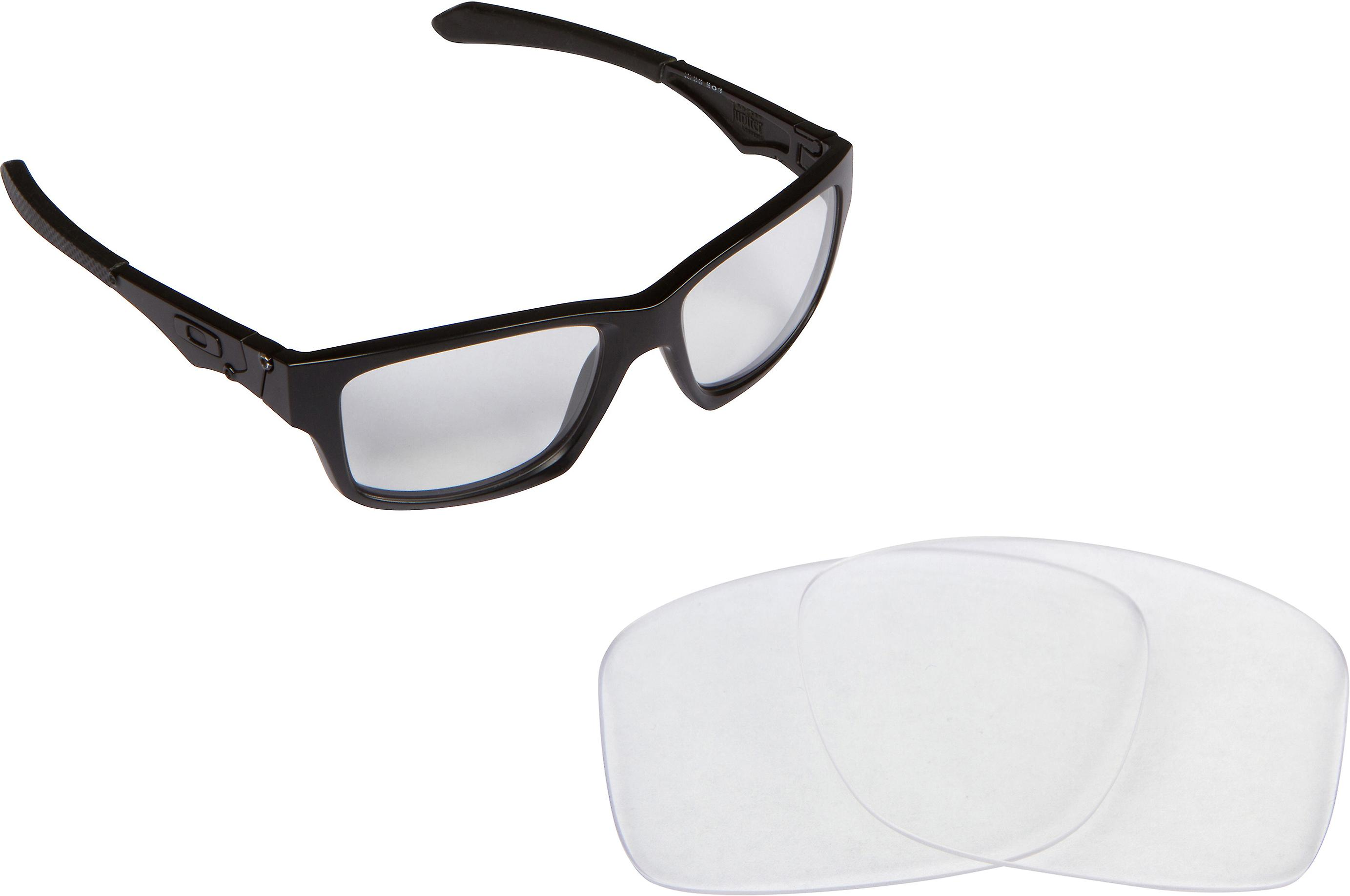 2a7dcd41ea JUPITER SQUARED Replacement Lenses Crystal Clear by SEEK fits OAKLEY  Sunglasses
