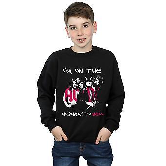 AC/DC Boys I'm On The Highway To Hell Sweatshirt