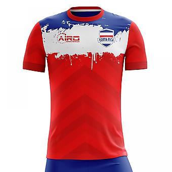 2020-2021 Costa Rica Home Concept Football Shirt (Kids)