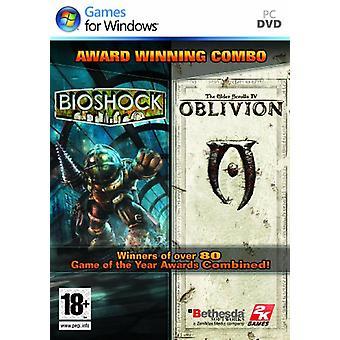 BioshockElder Scrolls Unohdus - Double Pack (PC DVD) - Uusi
