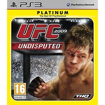 UFC 2009 Undisputed - Platinum Edition (PS3) - Neu