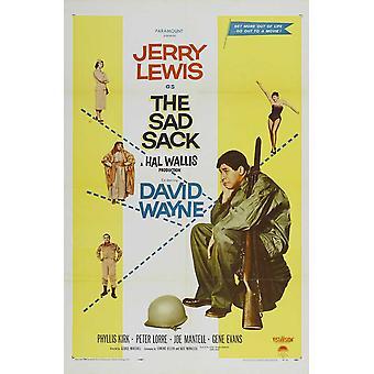 La locandina del film di Sad Sack (11 x 17)