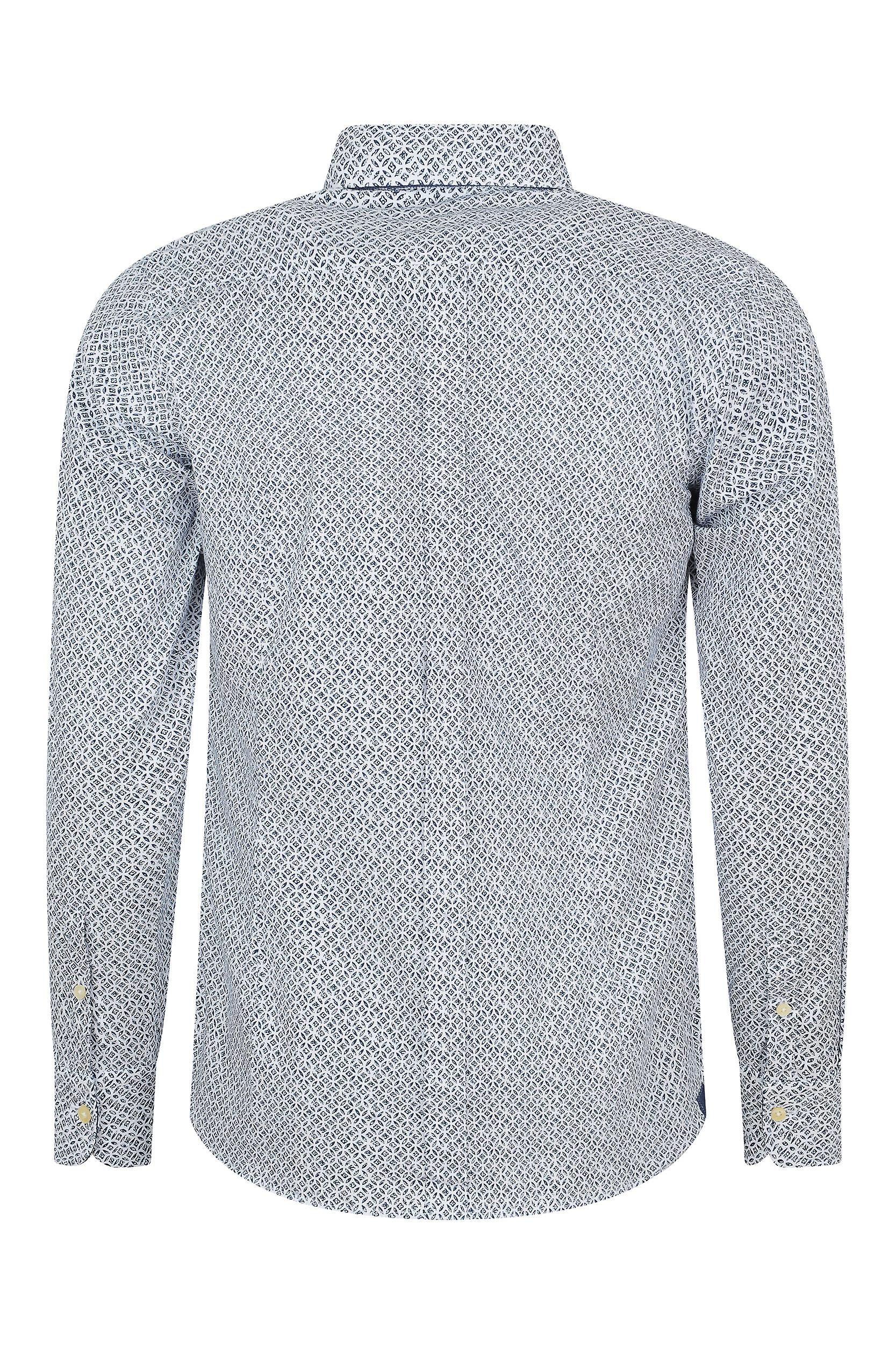 Fabio Giovanni Carlantino Shirt - Printed with a stamped floral pattern - High Quality Italian Shirt